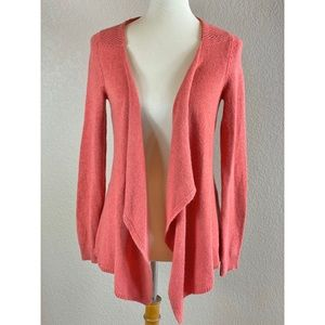 Anthropologie} Moth Open front Cardigan Sweater